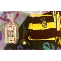 Super Paquete Harry Potter Bufanda Gryffindor Grageas Snitch