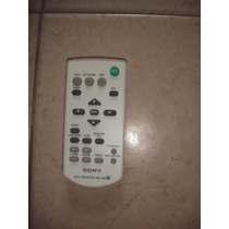 Control Remoto Para Proyector Sony Rm-pj6 Dx120