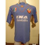 Camiseta Roma Italia Kappa 2001 2002 Batistuta #20 Argentina