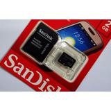 Cartão De Memória Micro Sd 2gb Sandisk Lacrado Adapta Li@