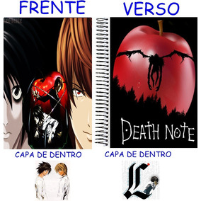 Caderno Do Death Note 10 Materias - 200 Folhas Mod 20