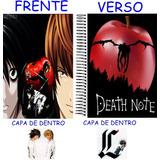 Caderno Do Death Note 10 Materias - 200 Folhas Mod 20