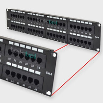 Panel Parcheo Patch Panel Cat6 48 Puertos 110