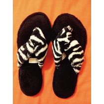Sandalias Animal Print Cebra