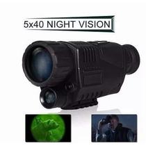 Monóculo 5x40 Visão Noturna Wg-37 Digital Vision 5megapixeis