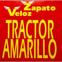 Cd Zapato Veloz Tractor Amarillo Promo Usado