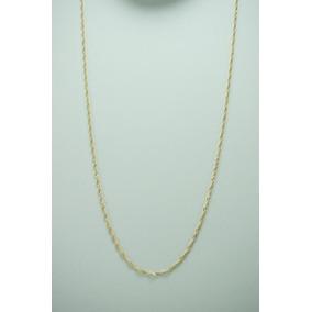 Corrente Singapura 50cm Ouro 18k