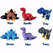 Kit 6 Digidinos - Dinossauros Que Rugem E Cantam - Dtc