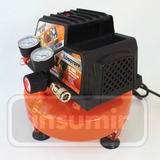 Compresor De Aire 1/3hp 4lts Portatil Semi Profesional