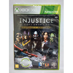 Injustice Gods Among Us Ultimate Xbox 360 Novo Mídia Fisica