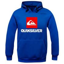 Blusa Moleton Quiksilver Skate Surf Masculino E Feminino