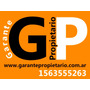 Garantia Para Alquilar / Garantia Propietaria Tel. 3979-2037