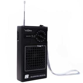 Rádio Portátil Dunga Motobras Com Rádio Am/fm