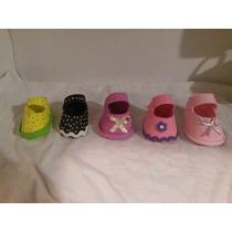 Zapatitos De Recuerdo Para Baby Shower Niña Foami