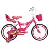 Bicicleta Lahsen Minnie Aro 16 Fucsia
