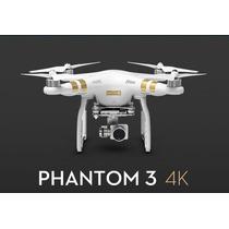 Drone Dji Phantom 3 4k Deja Volar Tu Imaginación
