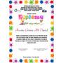 Diploma Pergamino Aleman De 24x31,5 Sexto Preescolar