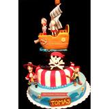 Tortas Decoradas Cumpleaños Por Kilo - Jake Y Los Piratas