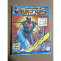 Comic Sensacional Luchas 156 Lizmark Killer Ejea 1988