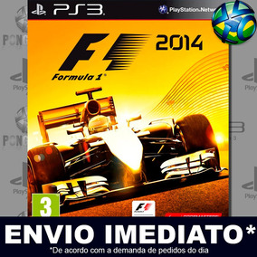 F1 2014 - Ps3 - Código Psn - Mídia Digital