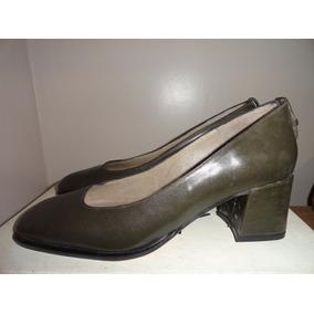 Zapatos Clasicos Cuero Vestir Secretarias Azafatas
