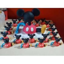Souvenir,adorno Torta Casa Mickey Mouse