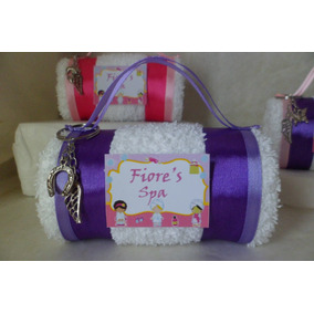 Souvenirs Spa Nenas 15 Años Personalizadas Toalla X 10