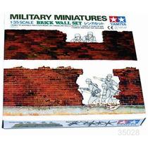 Tanque Tamiya Muro De Ladrillo Diorama 1/35 Armar Pintar