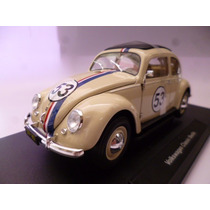 Vw Sedan Herbie Custom Split Window 1/18 Welly Cupido