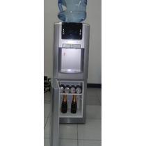 Dispenser Frio Calor Digital De Pie Con Heladera P/botellon