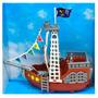 Barco Pirata Chico Coleccionable 21 Cm Art 009