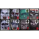 Máscara Careta Tela Drácula Calavera Zombie Vampiro Carnaval