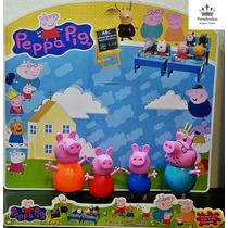 Família Peppa Pig Kit Com 4 Personagens