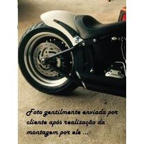 Kit Paralama 50cm+ Espadas Harley Davidson Fatboy Softail Fx