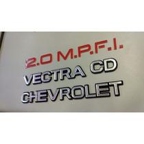 Emblema Vectra A 1993 1994 1995 Vectra + Cd +chevrolet + 2.0