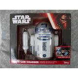 Star Wars R2d2 Cargador Celular Para Auto Usb