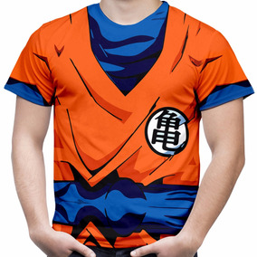 Camiseta Masculina Goku Camisa Dragon Ball Fantasia