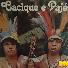 Cacique E Pajé 1978 Lp Pescador E Catireiro Povo De Goiás