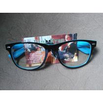 Armação Óculos Paul Ryan Preto Azul