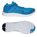 Zapato Tenis Casual Caballero Azul Zck T005 Kappa