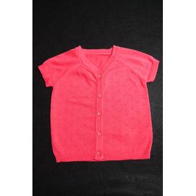Blusa Infantil Coral Para Bebê Menina - Tam 12-18 Meses