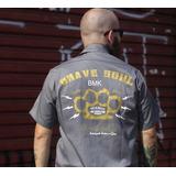 Camisa Workshirt - Mecânico - Moto - Brave Soul