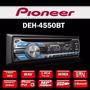 Som Automotivo Pioneer Deh-4550bt Deh-4550 Usb P2 2 Rca Mp3