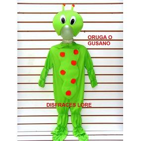 Disfraz Oruga Gusano Disfraces Primavera Niños Y Niñas