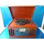 Vitrola Toca Disco Vinil Am Fm Cd K-7 Crosley Cr 704