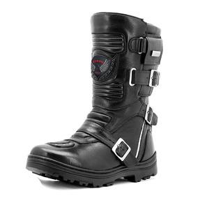 Coturno Bombeiro Samu Resgate Couro Legitimo Atron Shoes 296