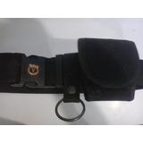 Cinturon Policial, Estuche Esposa, Anillo, Talla L