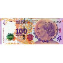 100 Pesos - Evita - Serie A 04175150 - Primer Diseño