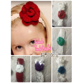 Cintillos Tejidos A Crochet