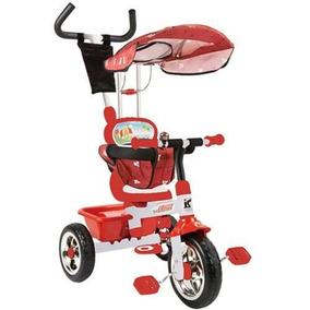 Triciclo Mega Biemme Metal Capota Apoya Pies Sweet Babies